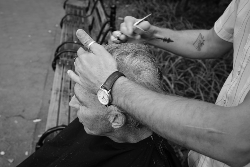 Irish Mike ~ #DoSomethingForNothing NYC ©Valérie Jardin
