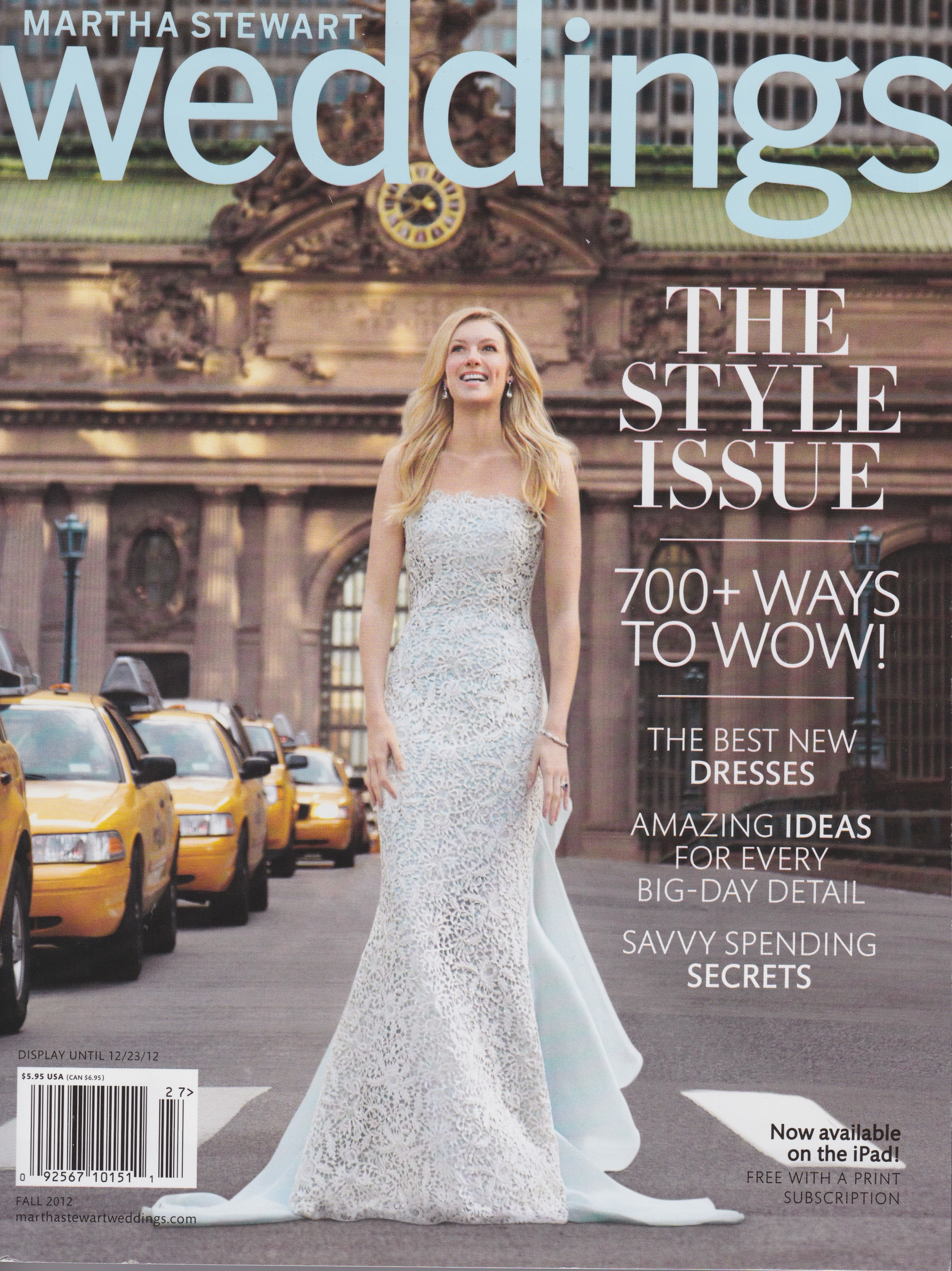 Martha Stewart Weddings September 2012
