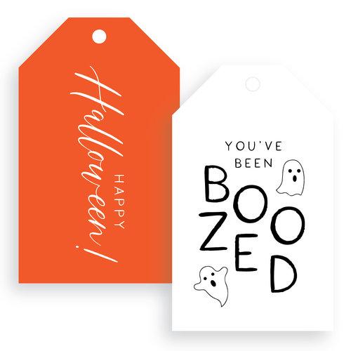 Halloween Gift Tags.Wl Boozed Halloween Gift Tags