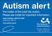 Autism Alert Cards