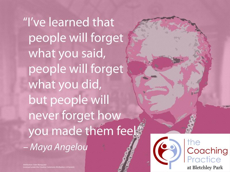Maya Angelou - Feelings