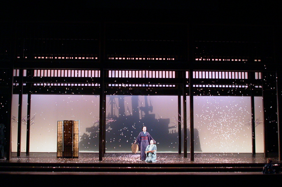 Madame Butterfly , directed by Ron Daniels at San Francisco Opera; photo by Kenneth Jay Friedman