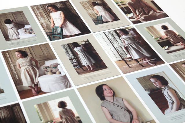Bojo childrenswear   Selection of postcards