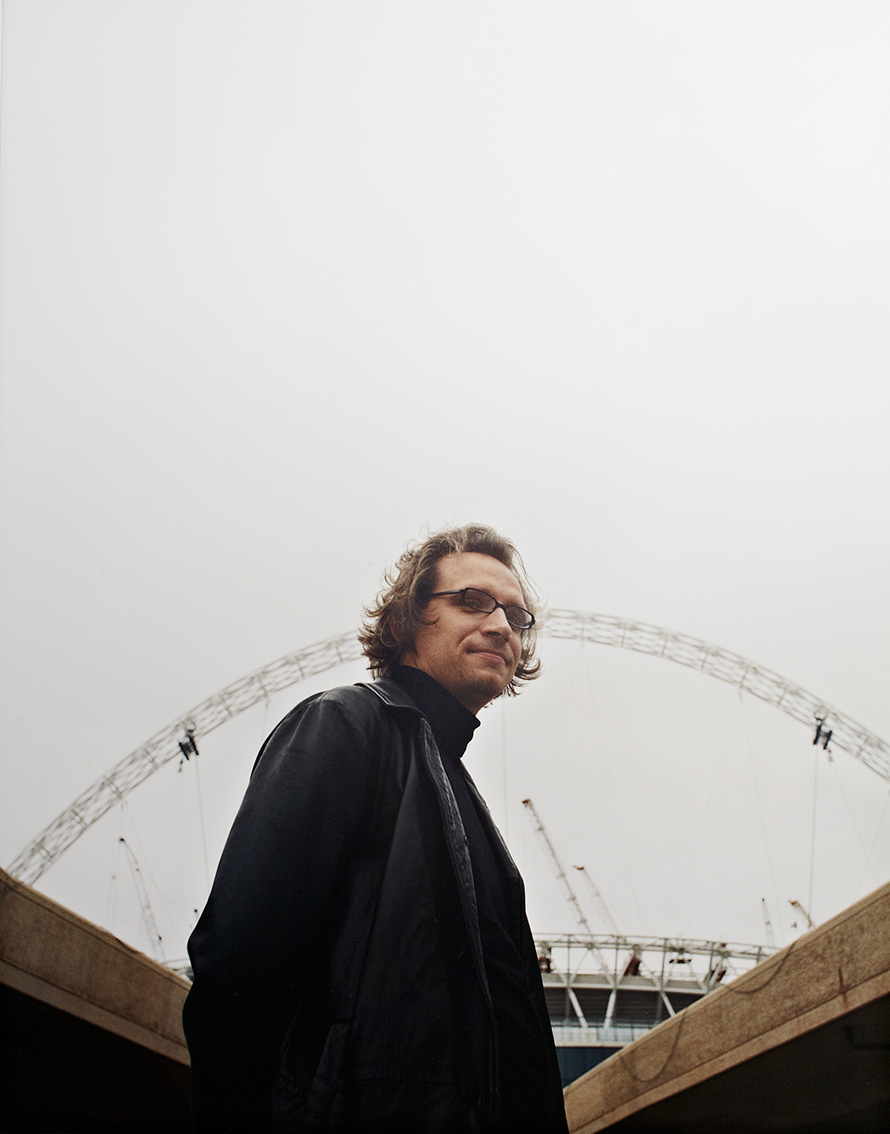 Angus Campbell  Lead architect Wembley Stadium for  UCL People magazine
