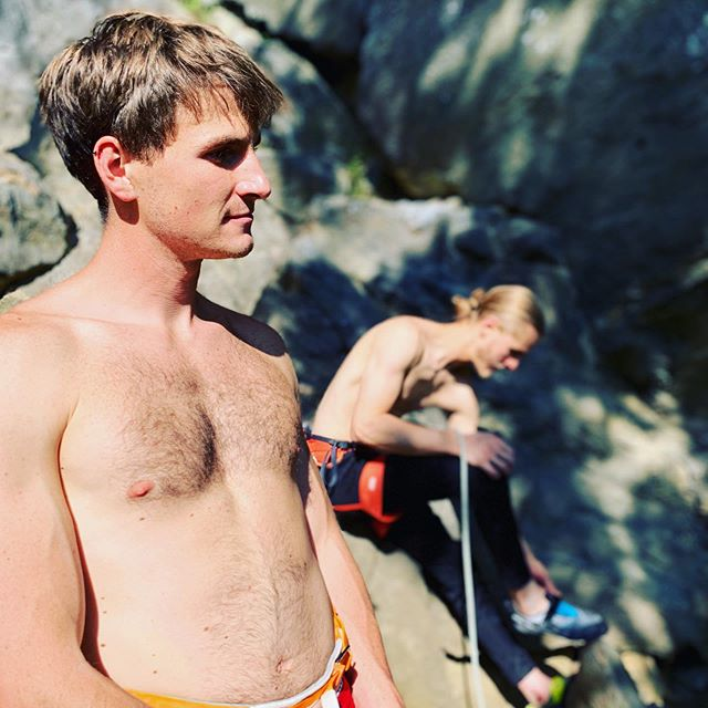 Huge burns last weekend at #rumney. Wish I was going back this weekend, but there's other things rocks to climb on. Til next time. @cornnnnns @crimpin_aint_eazy @thechro