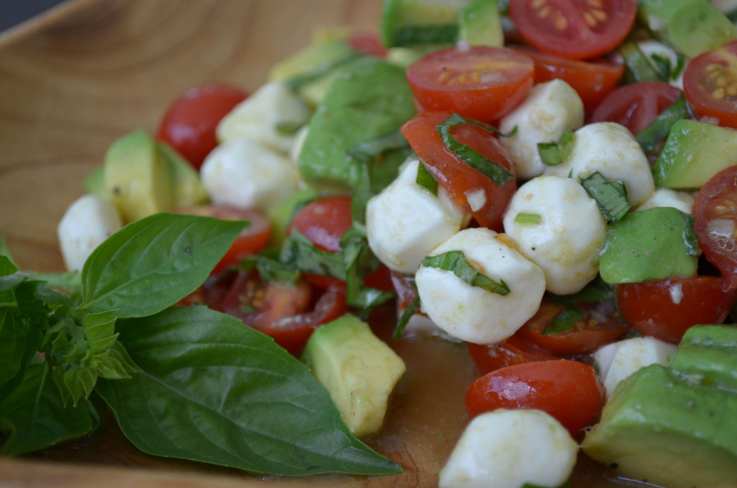 tomato, basil