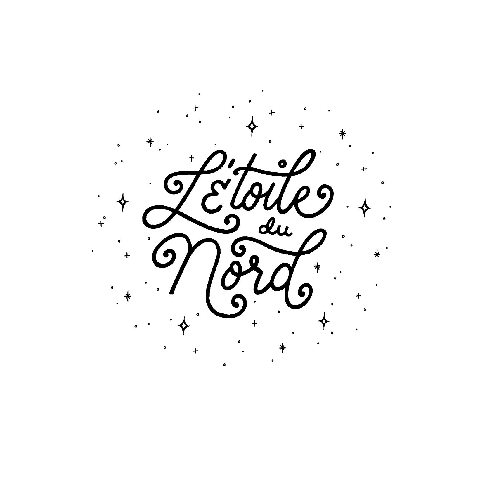 Letoile Du Nord Leah Meilander Lettering Illustration