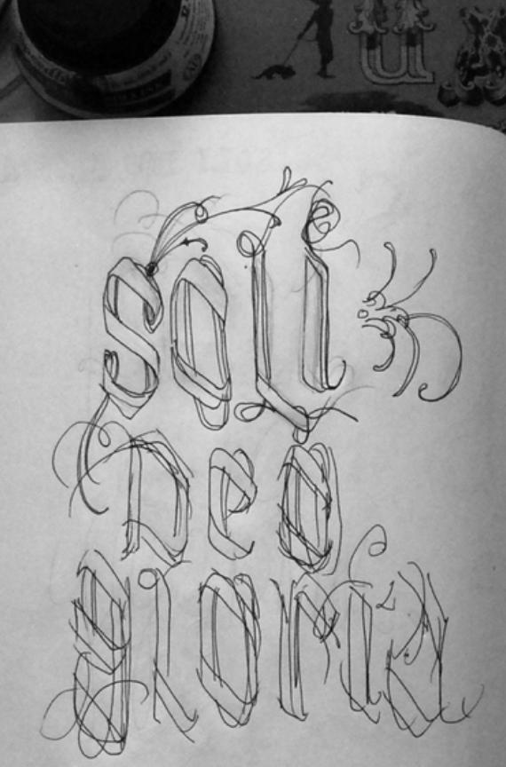 The original sketch