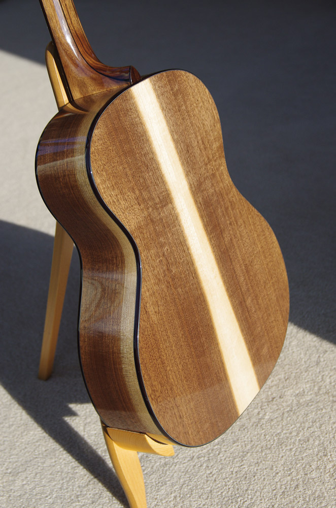 Eastern Black Walnut guitar back