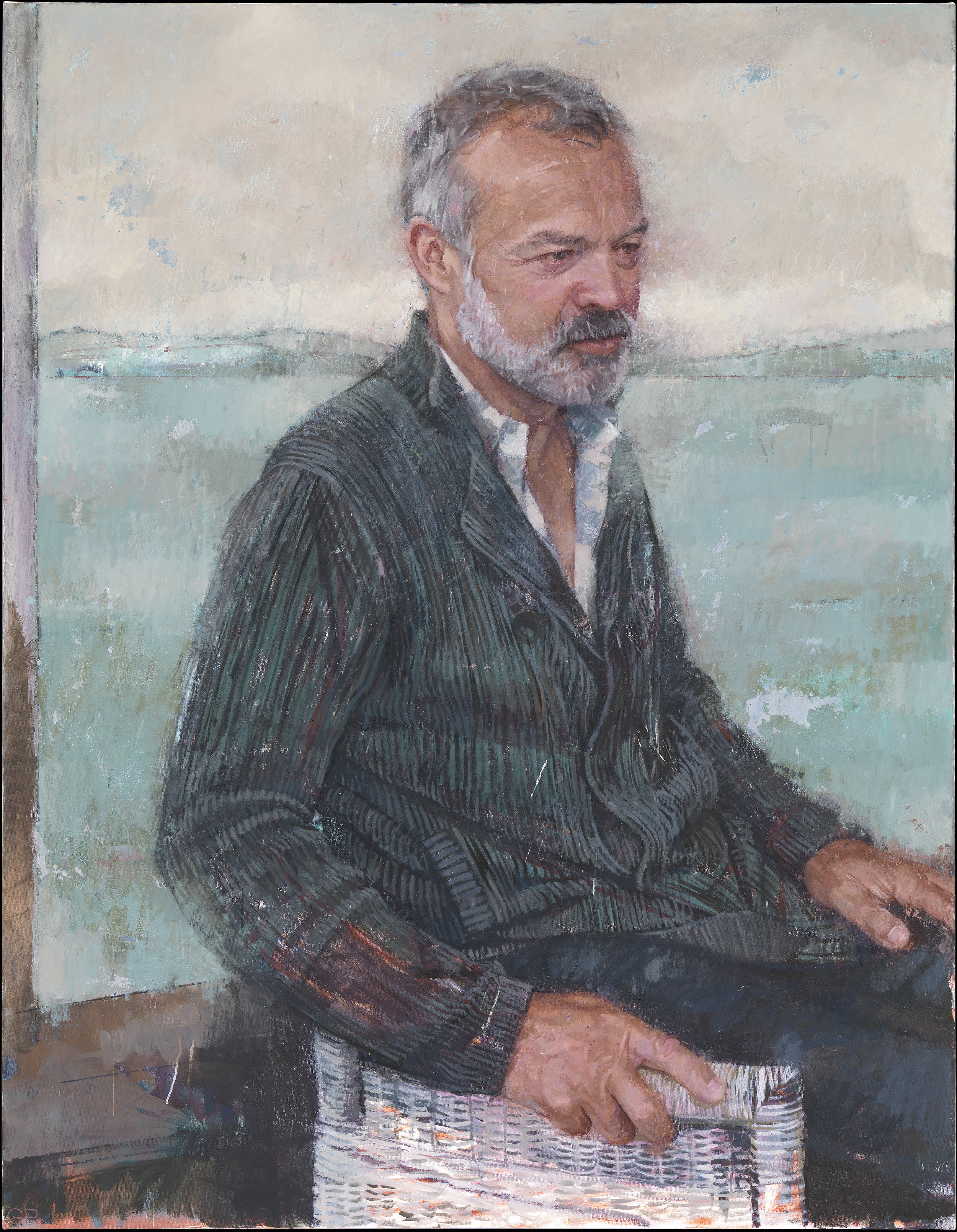 Portrait of Graham Norton, 2017.
