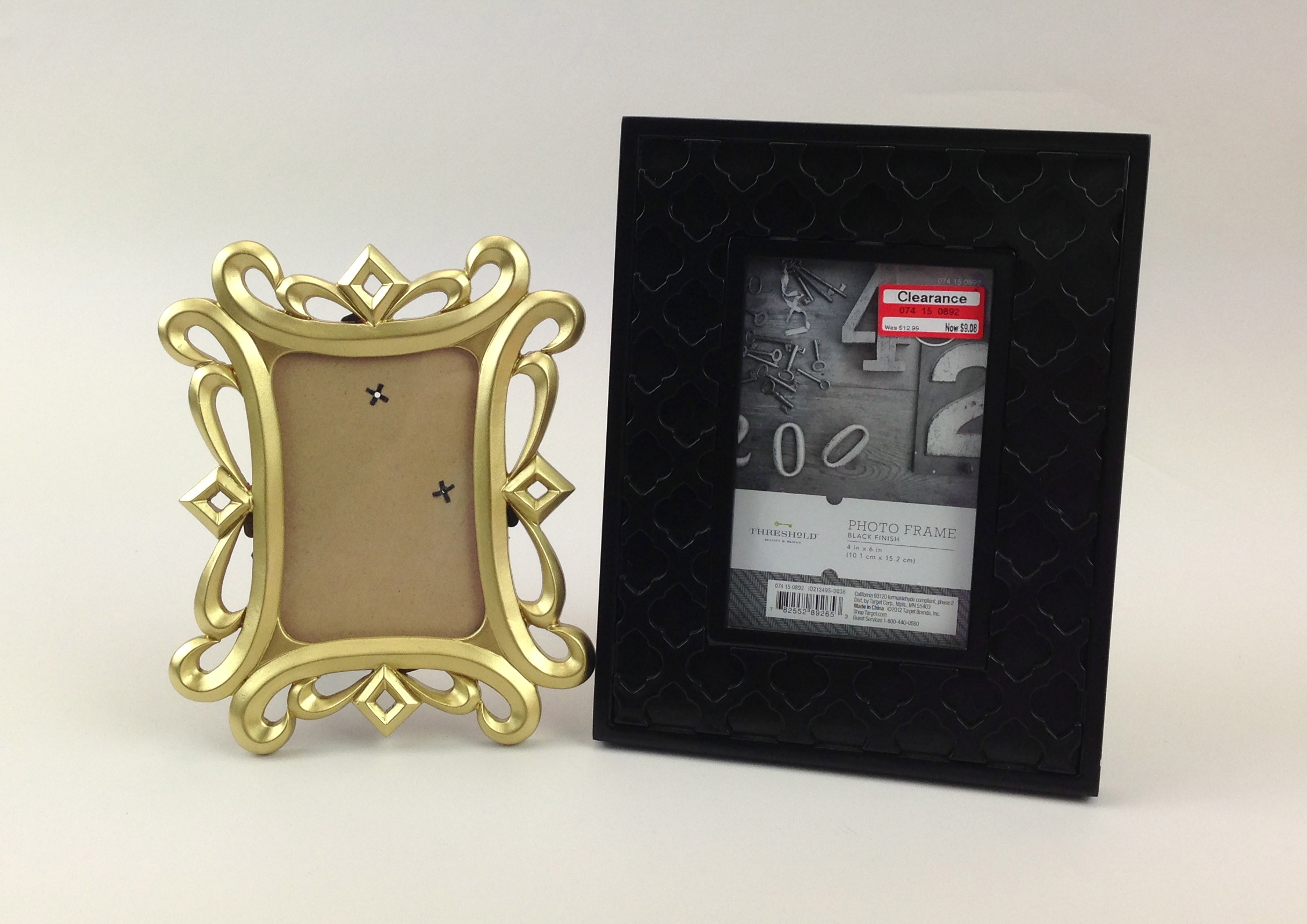 clearance frames made into decorations with some mambi soft spoken and POCKET PAGES on the mambi blog. EASY!
