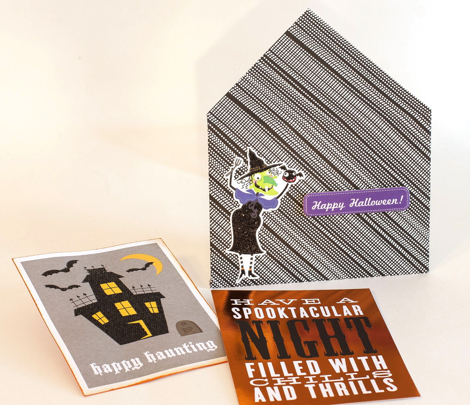 mambi POCKET PAGES halloween cards. Product available at Michaels.