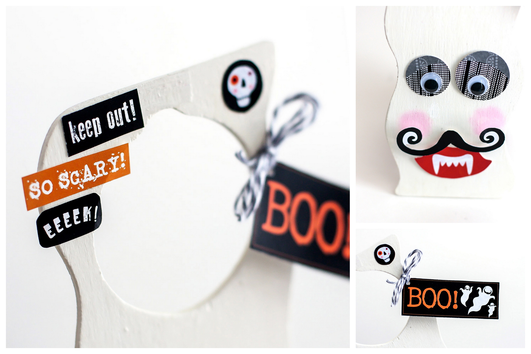 mambi embellishments for a DIY door hanger. items can be found at Michaels.