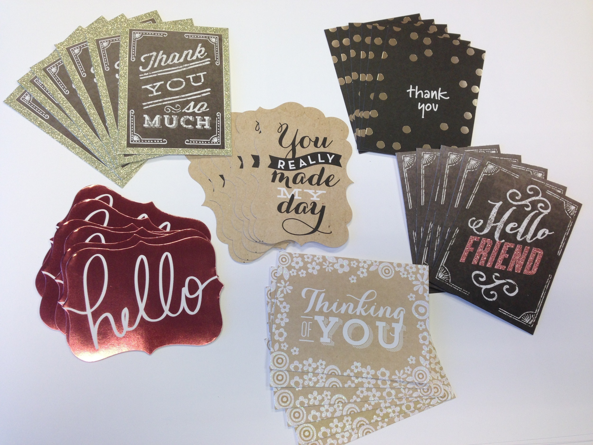 cards in an instant thank you cards.  mambi blog shows you how easy it is to make your own DIY thank you cards.