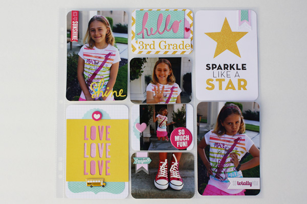 cards in an instant pocket pages layout on mambi blog.