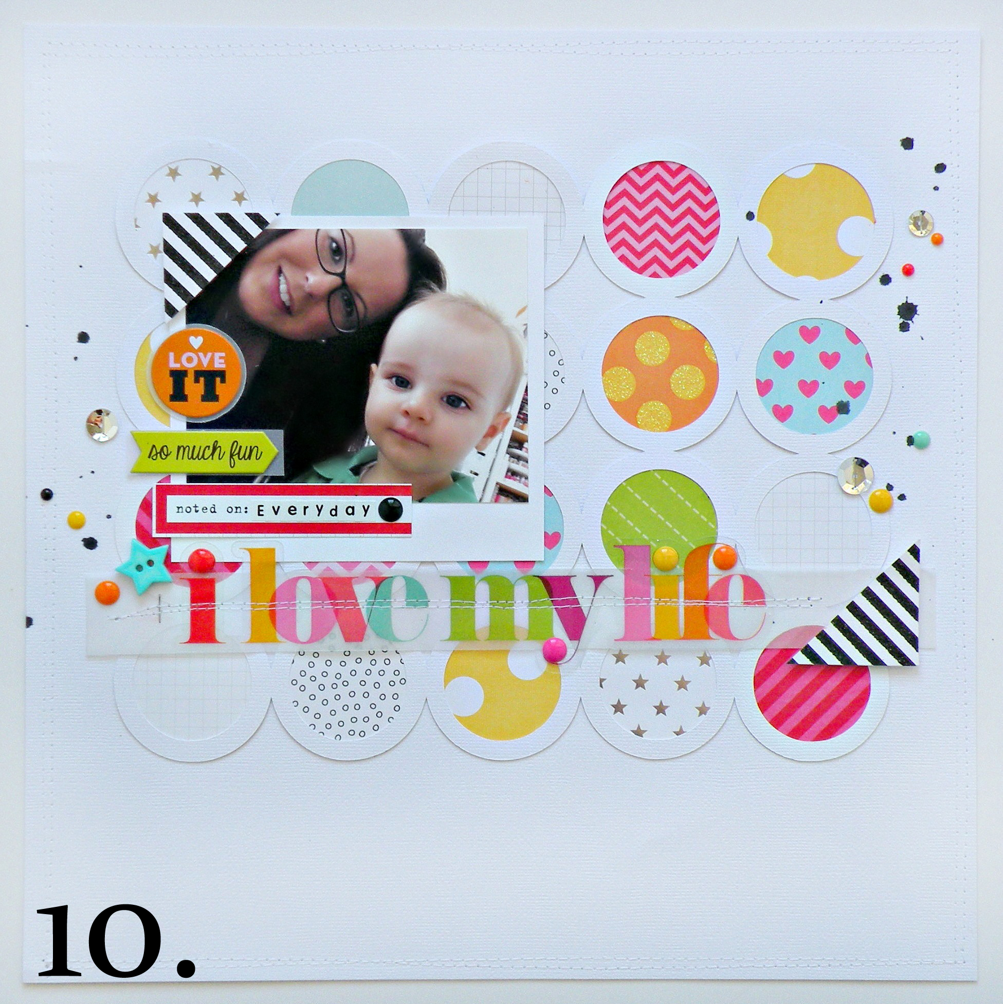 10. I Love My Life scrapbook layout with mambi embellishments & new Jumbo sticker. copy.jpg