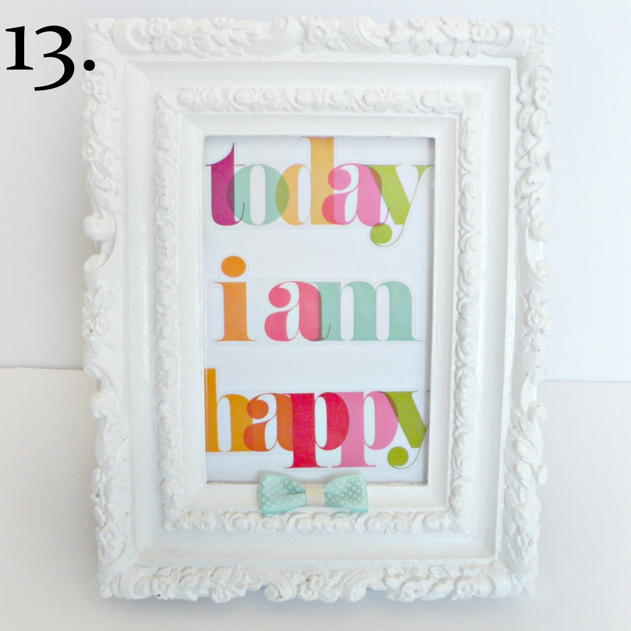 13. Today I am happy mambi sticker framed..jpg