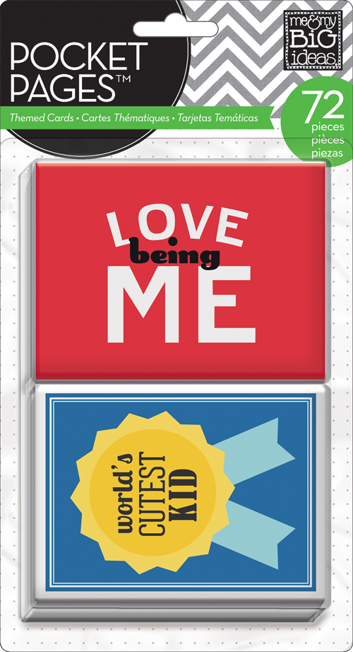 me & my BIG ideas:  TPC-12 A Kid's Life POCKET PAGES cards.