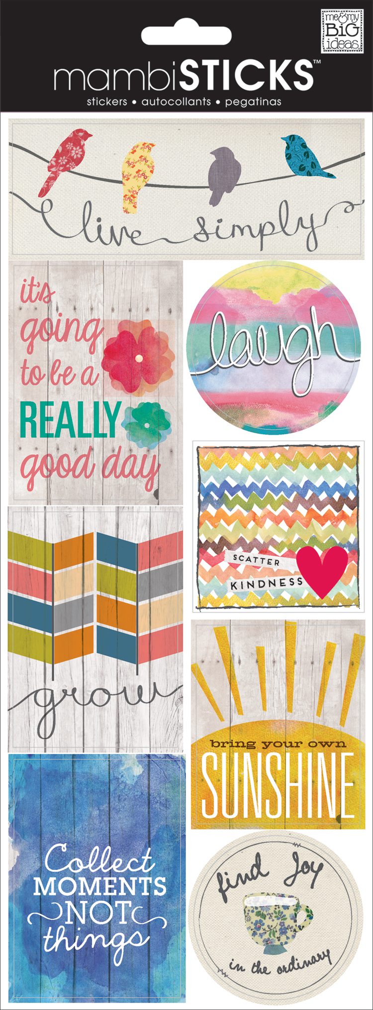 STP-149 Fly Scrapbooking Stickers