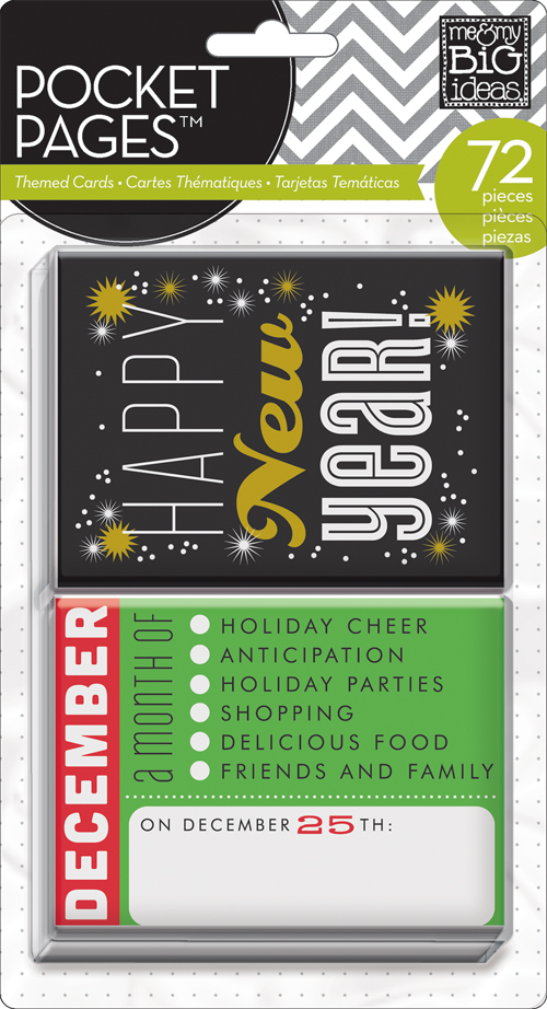 TPC-17 mambi POCKET PAGES holiday and special occasion scrapbooking project life cards.