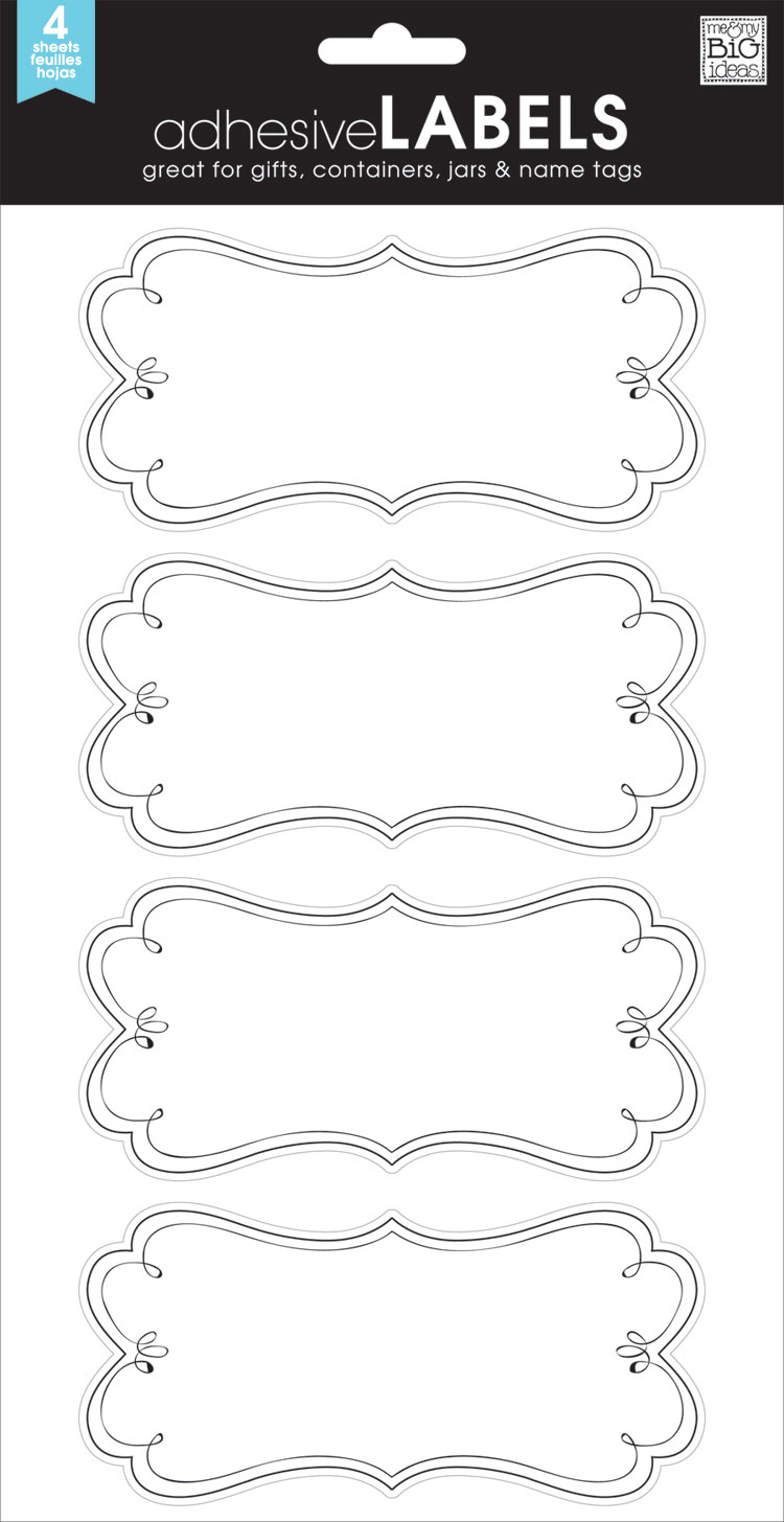 LABL-02 Elegant Flourish mambi LABELS