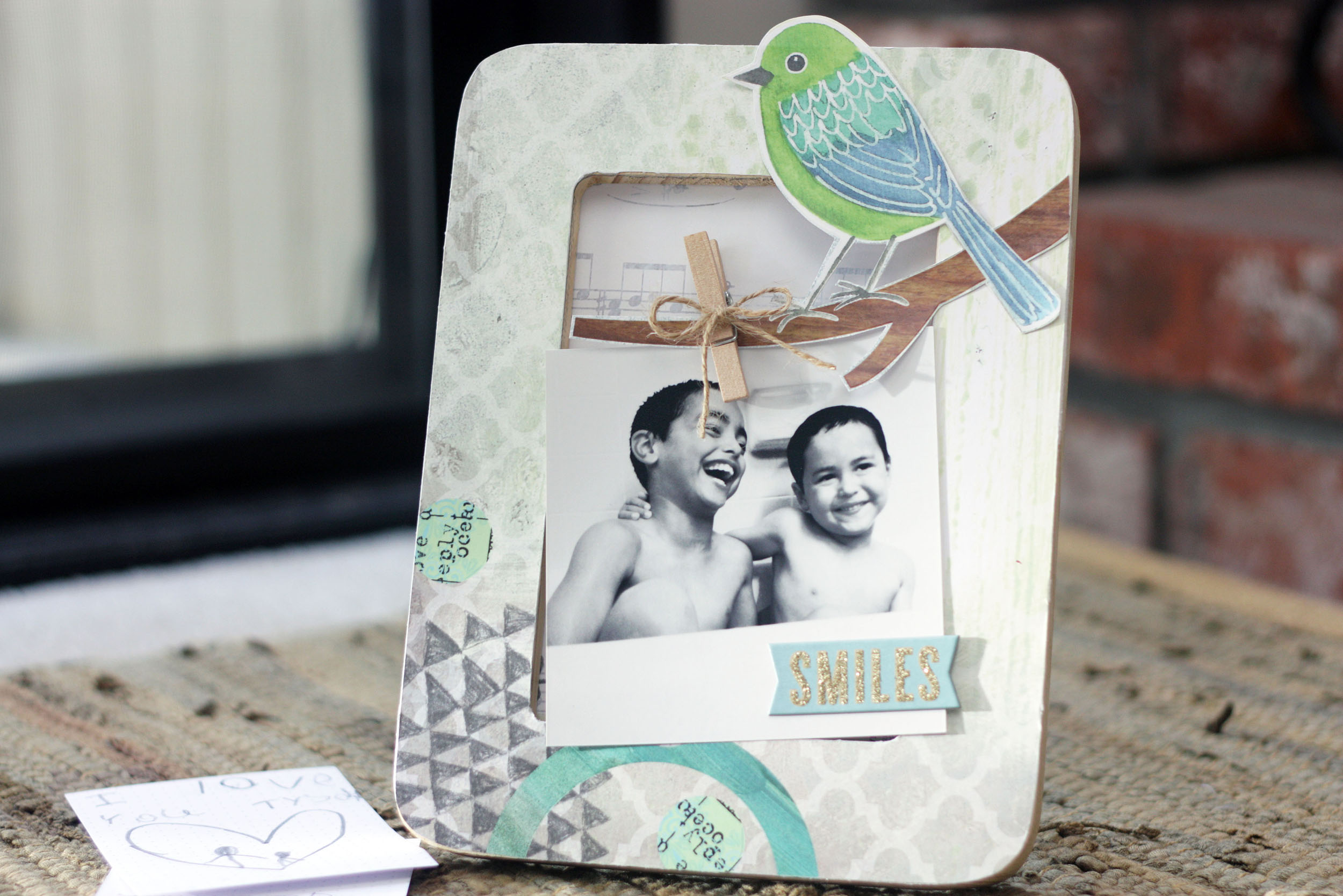 Interactive Mother's Day Frame on the mambi blog.