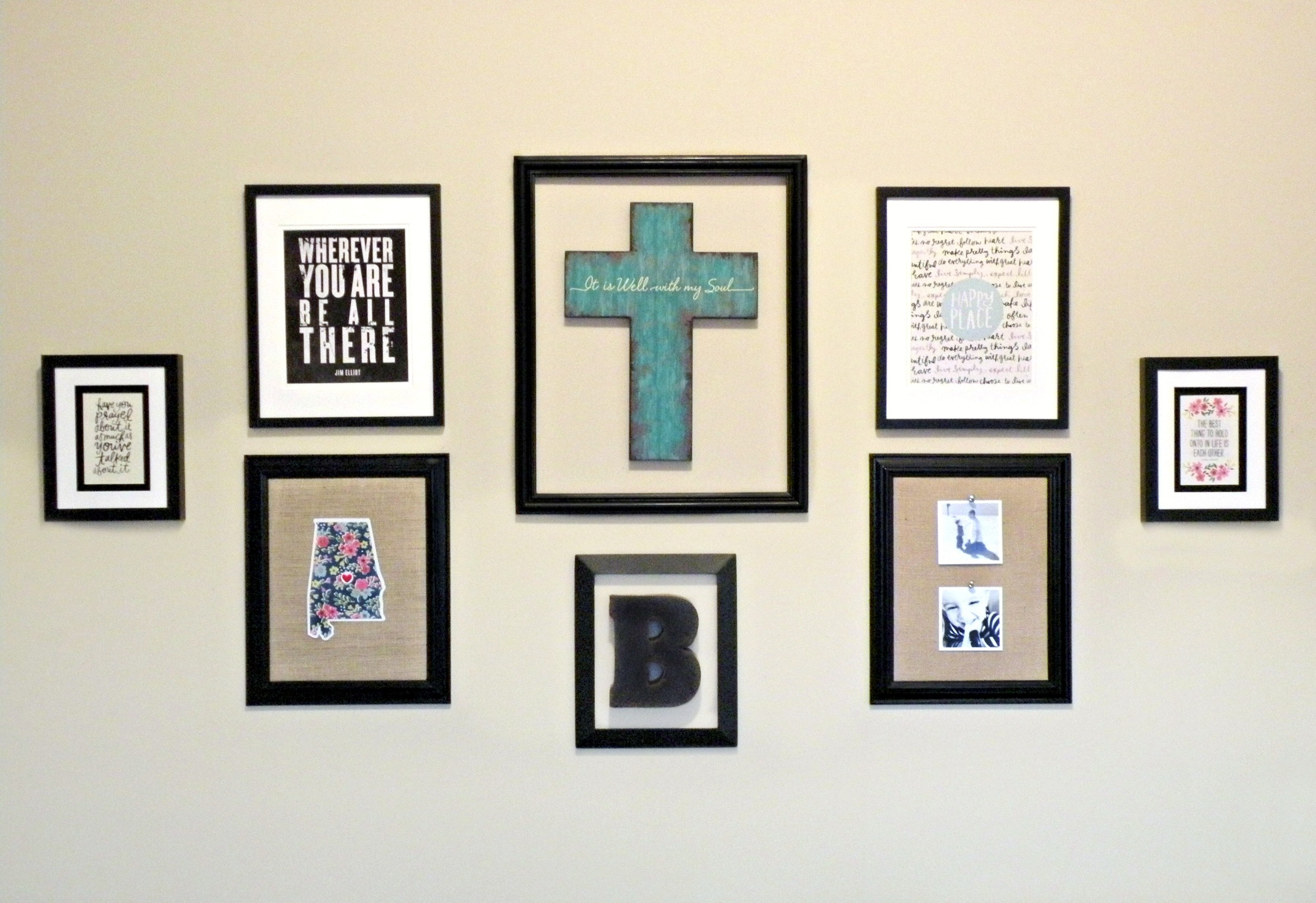 mambi DIY Gallery Pads make decorating your walls so easy!
