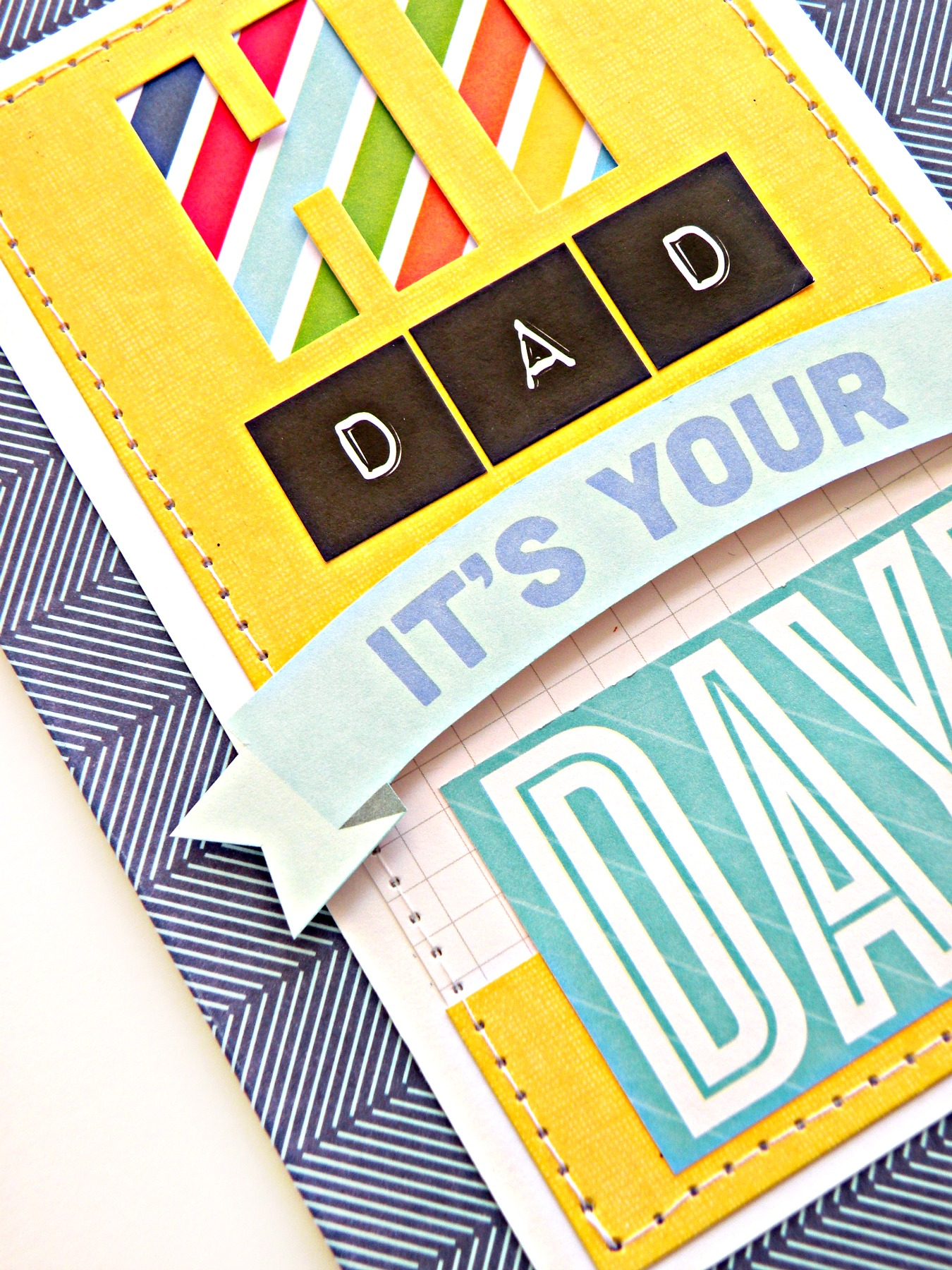 mambi blog:  Father's Day card, DAD it's your day.