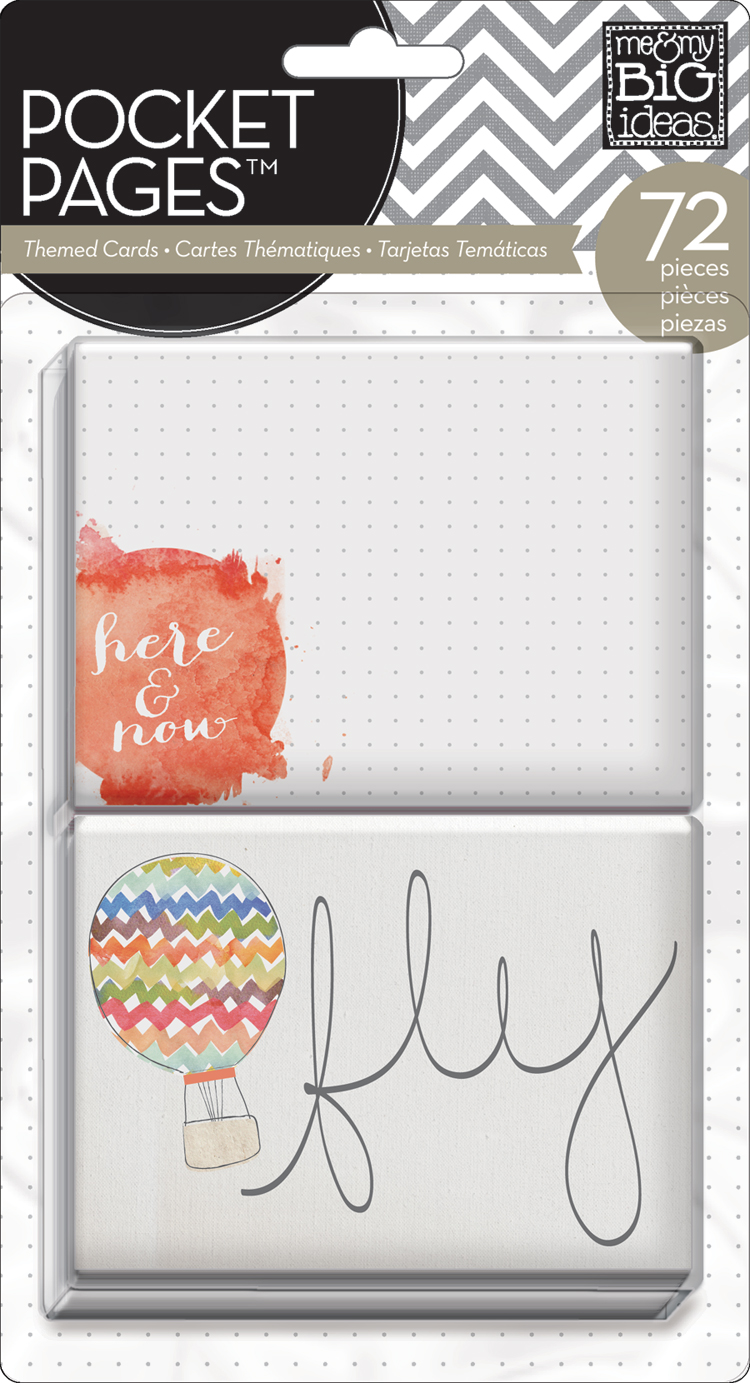 Here & Now POCKET PAGES™ journaling cards