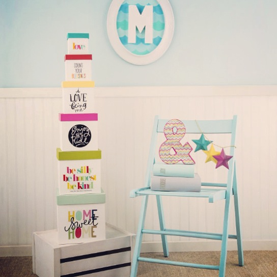 mambi jumbo stickers used in home decor.