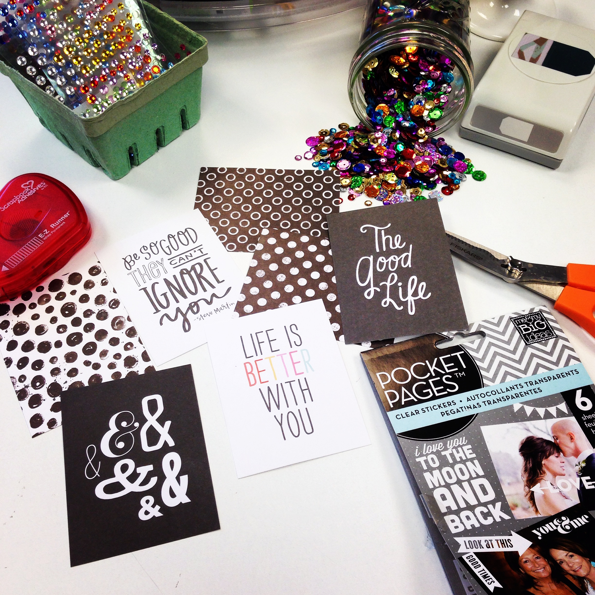 POCKET PAGES workspace wednesday.  mambi goodies.