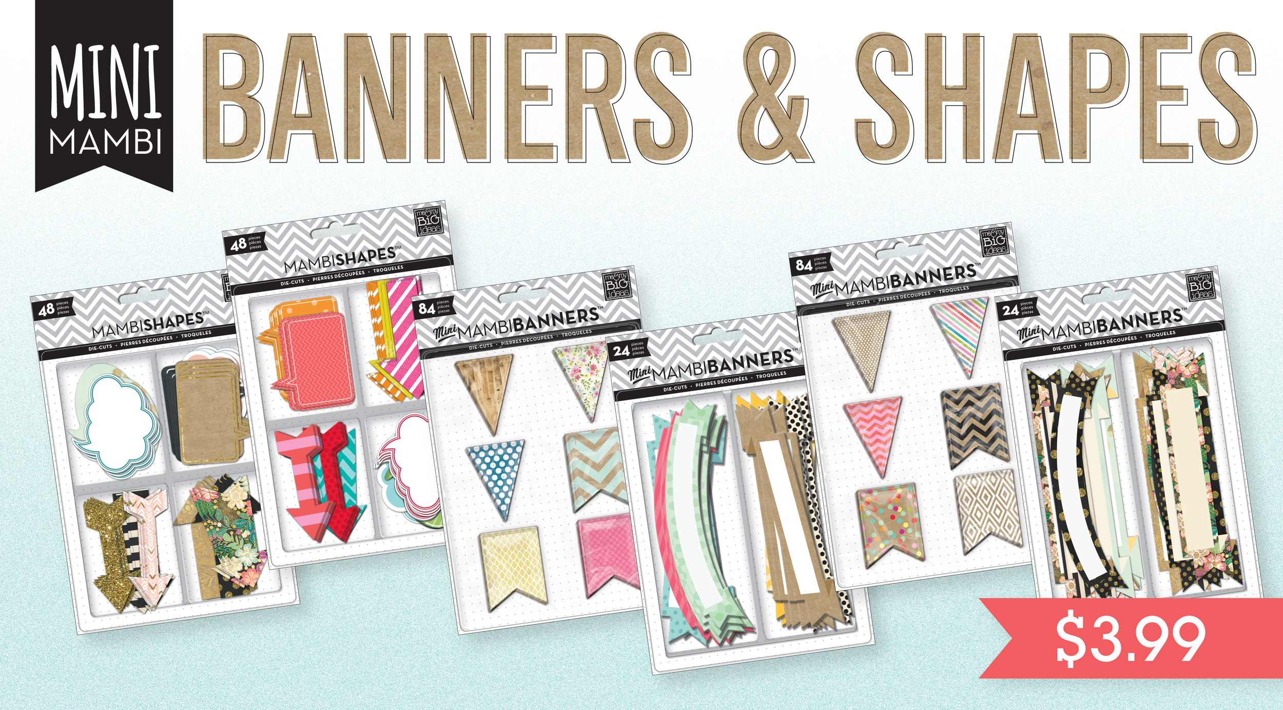 4th of July sale in the mambiSHOP this weekend!  Plus you get a FREE gold sticker pack with your order!  BRAND NEW banners and shapes for crafting and scrapbooking!