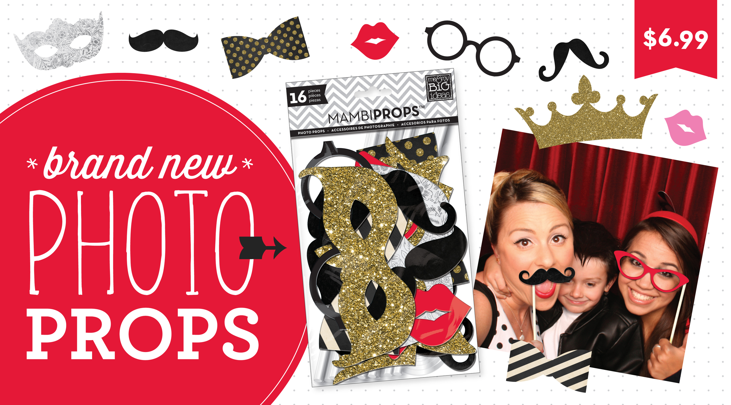 4th of July Sale in the mambiSHOP and free stickers with purchase.  BRAND NEW DIY photo booth props in the shop!  Great for weddings or parties.