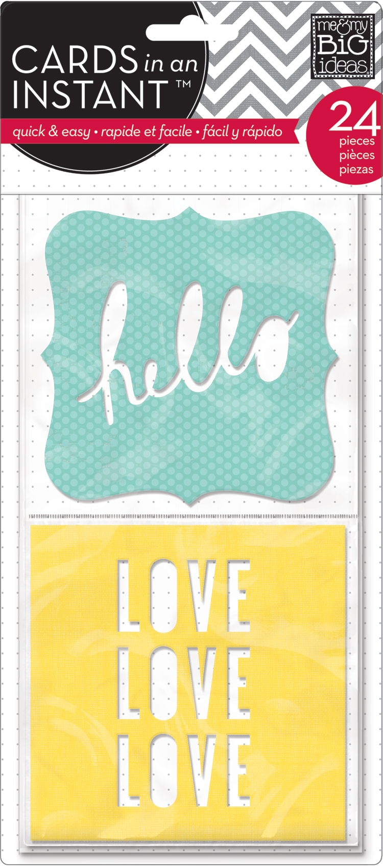 Hello, Love CARDS in an INSTANT pack.  Makes cardmaking easy!