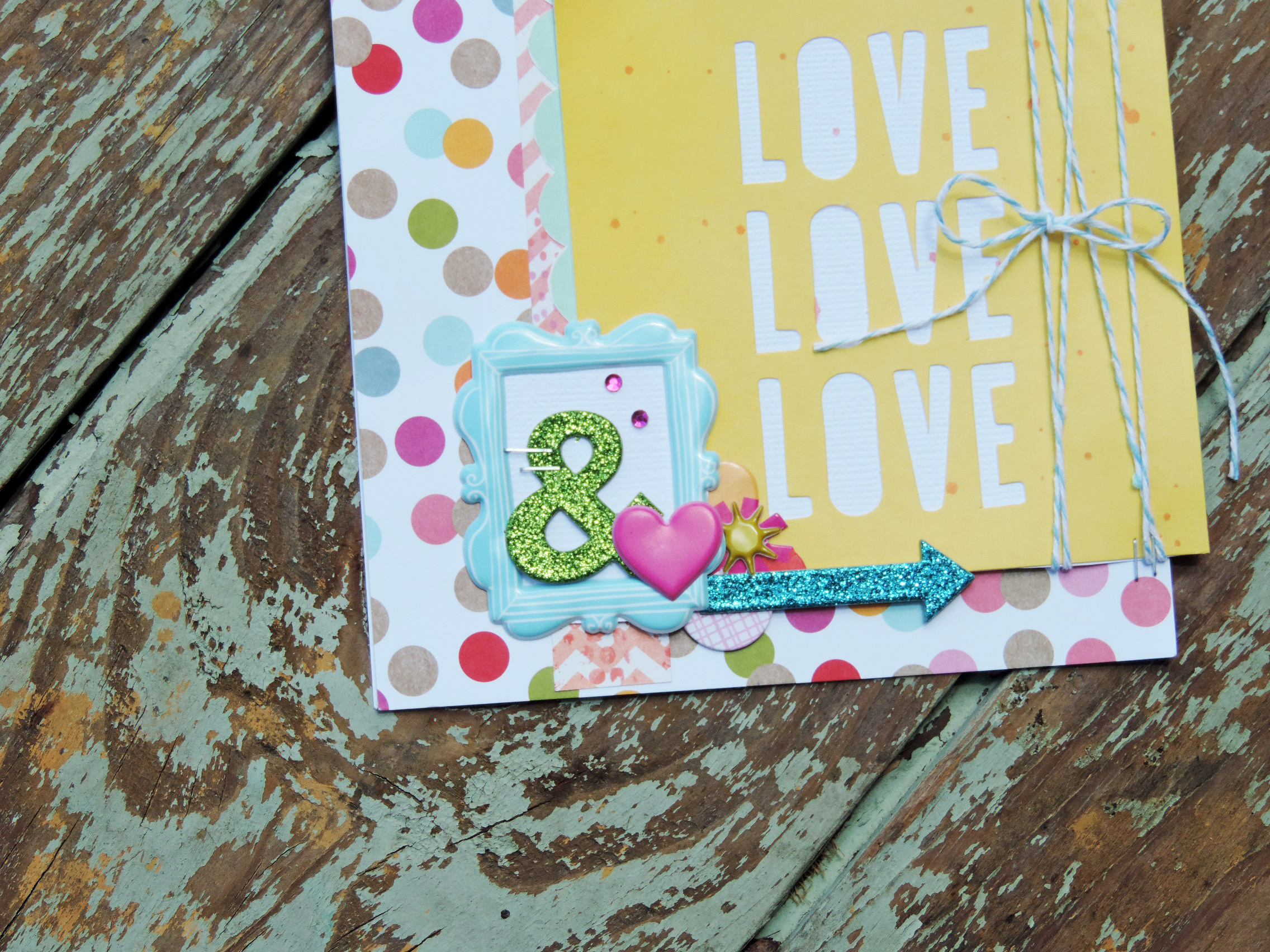 mambi CARDS in an INSTANT:  Love handmade card