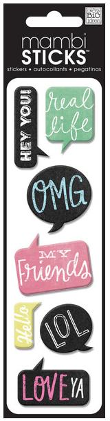Puffy OMG mambiSTICKS | me & my BIG ideas