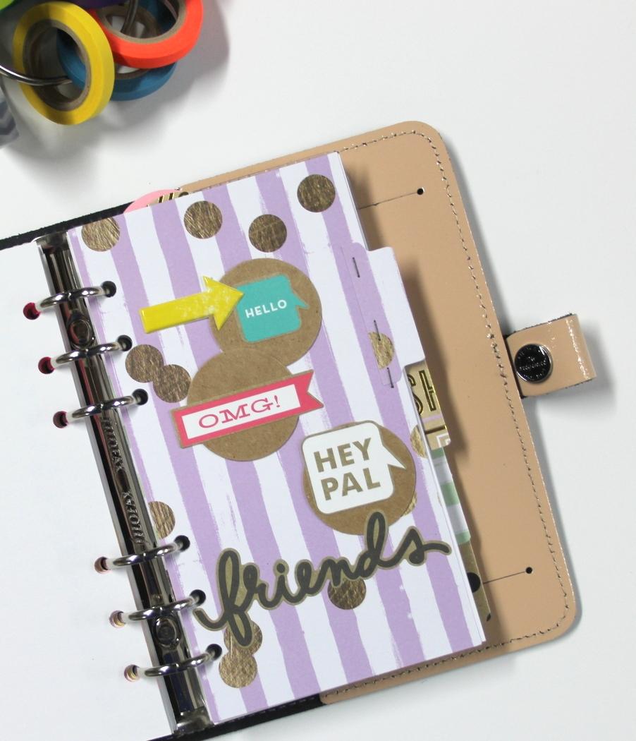 mambi adorned planner inserts by Design Team member Candi Billman | me & my BIG ideas