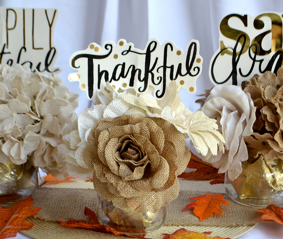 mambi & Hobby Lobby Thanksgiving Centerpieces | me & my BIG ideas