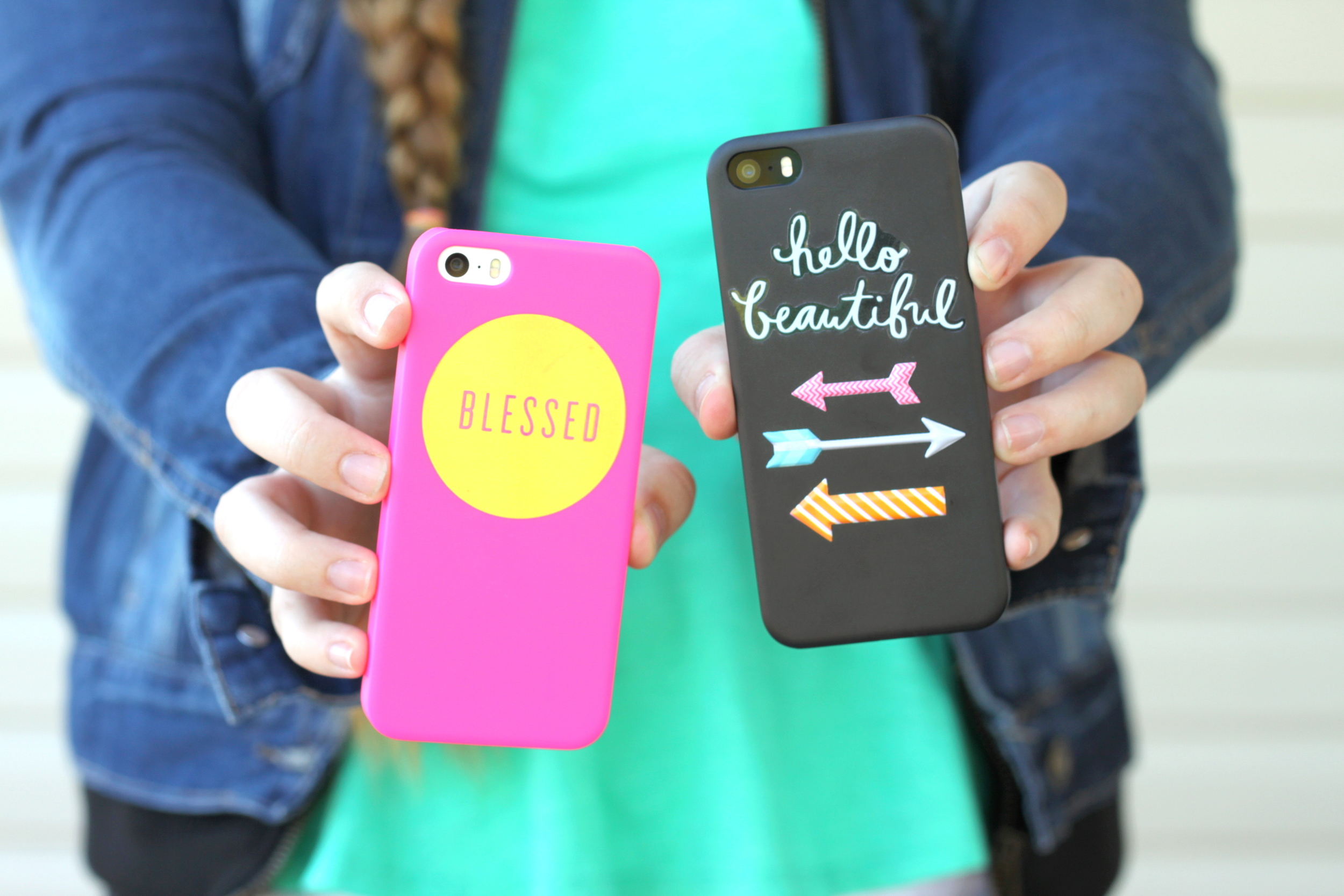 sports shoes 56395 6aff3 DIY phone cases using mambiSTICKS — me & my BIG ideas