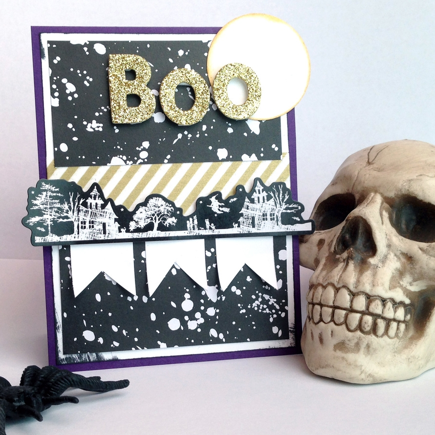 double dose of Halloween card-making