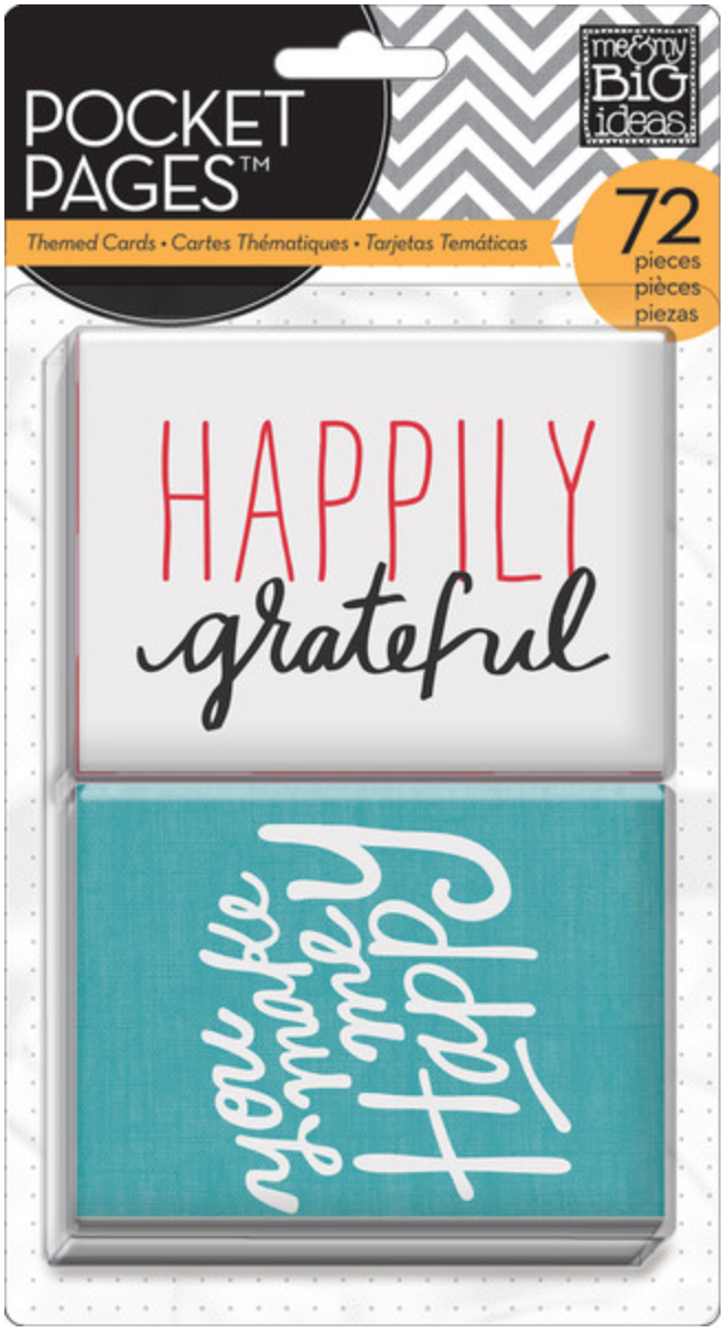 I Love Life POCKET PAGES™ cards | me & my BIG ideas