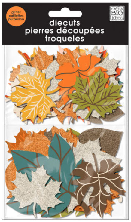 Fall Leaves mambiSHAPES die cuts | me & my BIG ideas