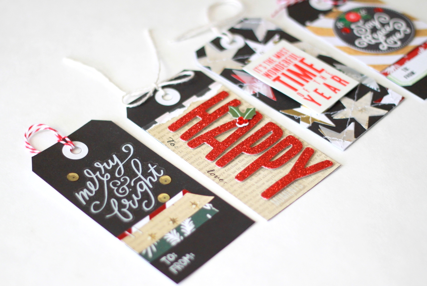 DIY gifts | Holiday Gift Tags — me & my BIG ideas