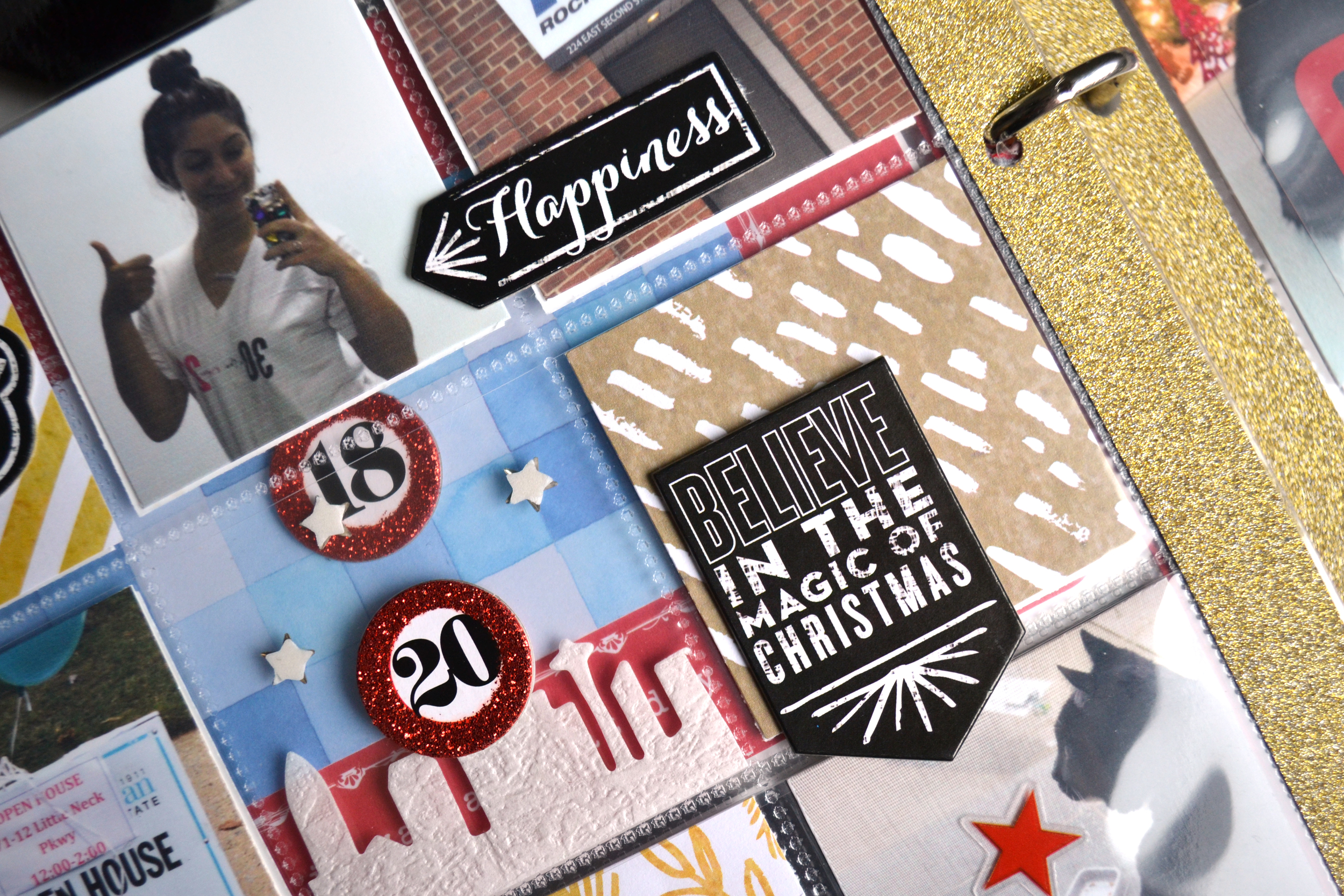 documenting December using holiday mambi products by Amanda Rose Zampelli | me & my BIG ideas