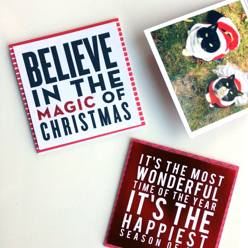 Christmas KittiesCARDS in an INSTANT™