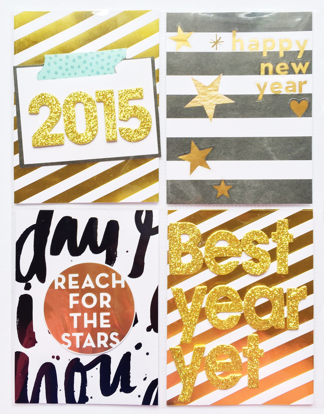 New Years Eve 2015 POCKET PAGES™ by mambiDeisgn Team member Olya Schmidt | me & my BIG ideas