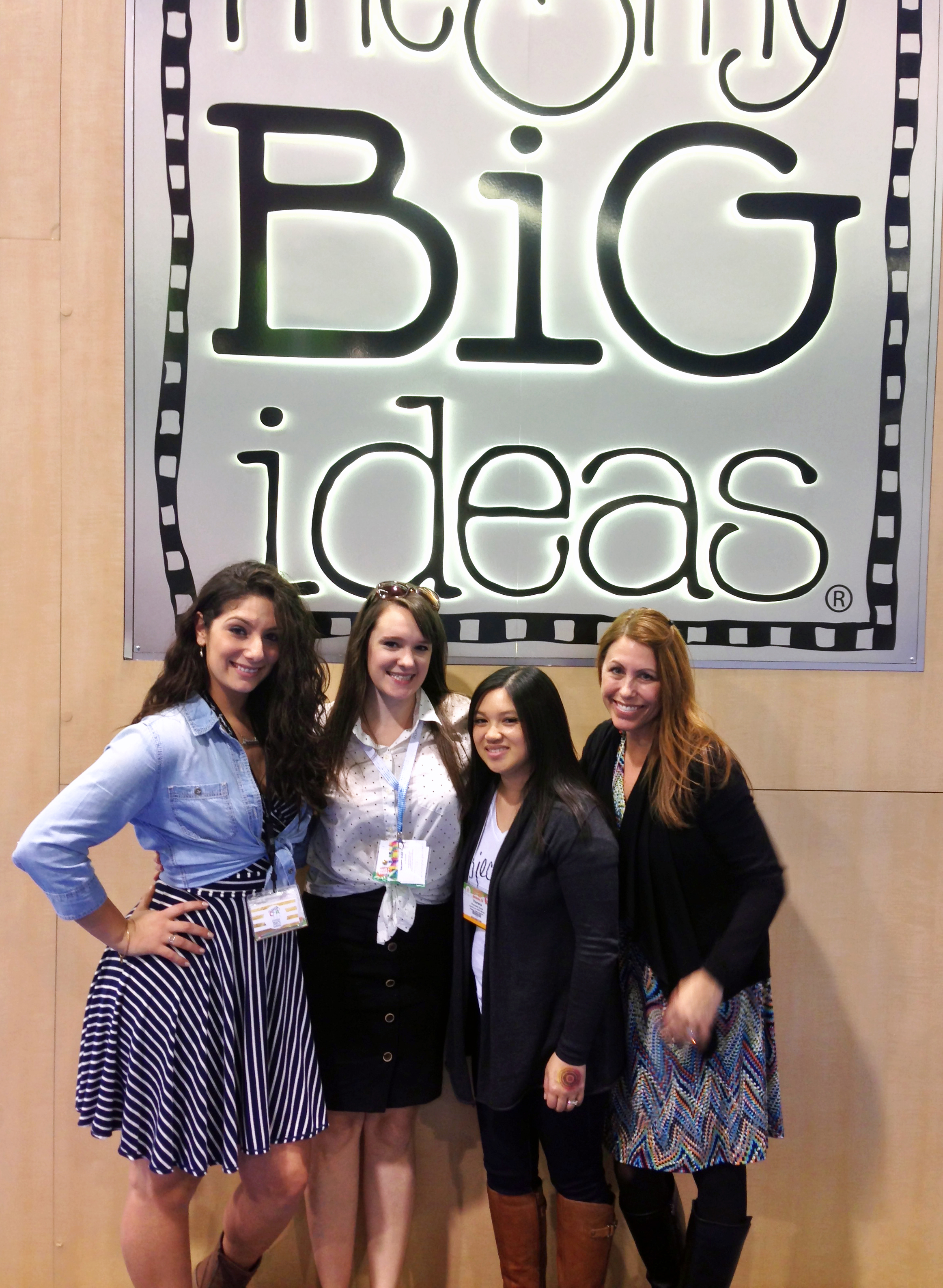 some of the girls from the mambi Design Team @ CHA 2015| me & my BIG ideas