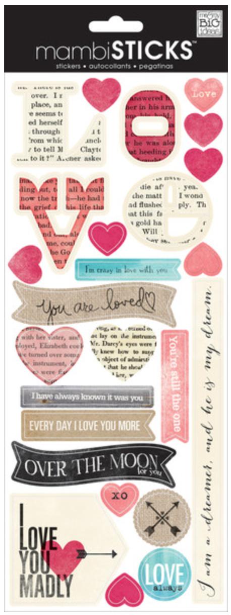 'I Love You Madly' mambiSTICKS   me & my BIG ideas