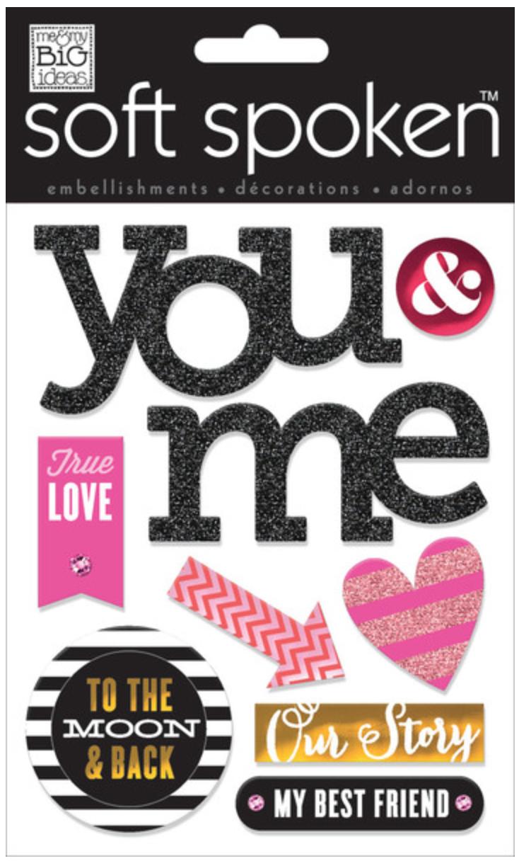 Scrapbook Page   Love Love Love You — me & my BIG ideas