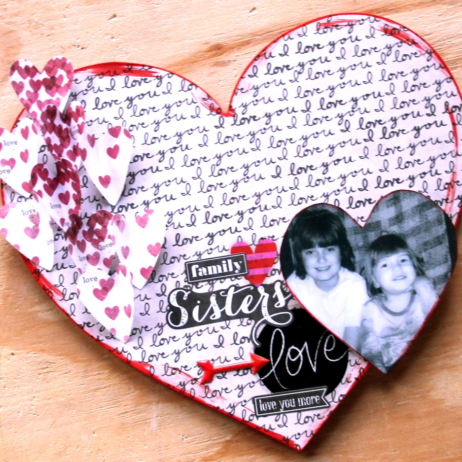 Valentine's Heart-shaped Wall Mount